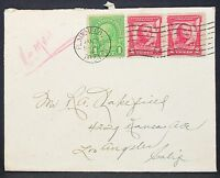 US Postal History Airmail Cover Plainfield General Pulaski Lupo Letter (H-10931