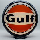 """GULF """"60s Style"""" Gas Pump Globe 13.5""""  SHIPS FULLY ASSEMBLED! MADE IN THE USA!!"""