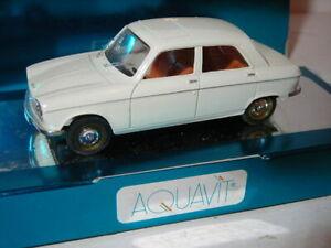 PEUGEOT 204  BERLINE DE 1965- AQUAVIT 1/43° REF 01 1050 A1