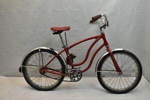 """1985 Schwinn Hollywood Vintage 20"""" Kids Bike SS Single Speed Coast Steel Charity"""
