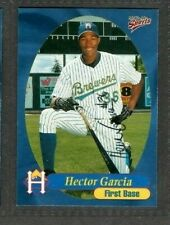 1999 Multi-Ad #23 Hector Garcia Helena Brewers Baseball Signed Autograph (B45)