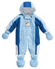 Schneeanzug für Baby Jungen Ohne Muster