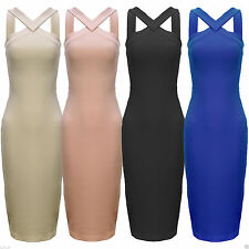 Unbranded Calf Length Polyester Casual Dresses for Women