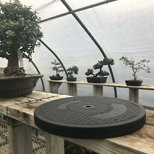 "Bonsai Outlet Stainless Steel Tree Plant Turntable 12.5"" Base 200 Pound Capacity"