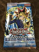 YuGiOh Legend of Blue Eyes White Dragon Booster Pack sealed 2017 not 2020