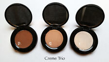 Mica Free Pressed EYESHADOW Trio *Gentle Vegan Eyeshadow Eyeliner* Any Color