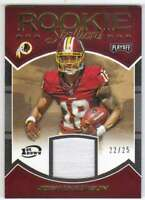 2016 Panini Playoff Rookie Stallions Prime Patch 1st Down /25 #22 Josh Doctson