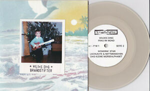 """Brandstifter - Wildes Ding 7"""" WHITE WAX Germany Minimal Experimental Electronic"""