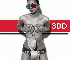 3DD A 3-D Celebration of Breasts by Henry Hargreaves Hardcover Book * New !