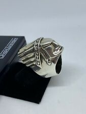 King Baby Indian Chief Ring Sz  11.5