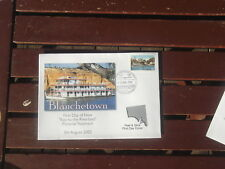 Blanchetown Riverland Postmark Murray River Oscar W Stamp First Day Cover Peel