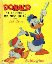 livre enfant: Walt Disney: Donald et le code de sécurité. les albums roses