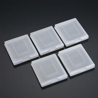 5pcs Clear Plastic Cartridge Game Case Dust Cover for Game Boy cfr