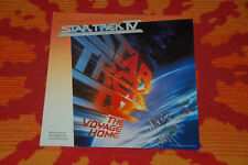 ♫♫♫ Star Trek IV, The Voyage Home * OST org. MCA 254568-1, `86 german Press ♫♫♫