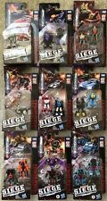 Complete Set Of 9 18Transformers War for Cybertron Micromaster Wave 1 2 3 4 5