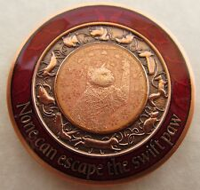 Duncan Geocoin - Red Squirrel Edition - Cat Coin