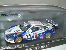 1/43 PORSCHE 911 GT3 RS 2004 LE MANS #75 MINICHAMPS.SUGDEN/KHAN/SMITH