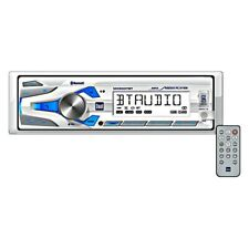 Dual White AM/FM/MP3/USB/Bluetooth/AUX Stereo Receiver