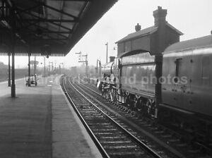 Salisbury Station 5903 Keele Hall 18.9.61 Railway Negative RN110