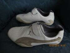 CHAUSSURES BASKETS PUMA CUIR BLANC POINTURE 39 WHITE PUMA LEATHER SHOES SIZE 6