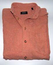 Karierte Bequeme Sitzende Herren-Freizeithemden & -Shirts mit Krempelärmel-Ärmelart aus Baumwolle