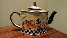 Charlotte Di Vita Miniature Enamel Teapot Trade + Aid. 1 of a ltd production