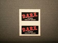 1/18 Model Car / Truck - D.A.R.E. Drug Prvention - Police Decals - Pair