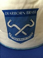 Dearborn Brass P Trap And Social Club Plumbers Trucker Hat Mesh SnapBack