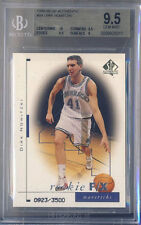 Dirk Nowitzki Mavericks 1998-99 SP Authentic #99 Rookie Card RC BGS 9.5 Gem Mint