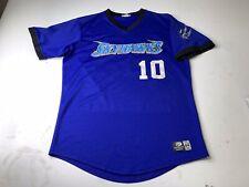 Vintage Sussex Skyhawks Authentic Jersey Size 44 Defunct Minor League Baseball