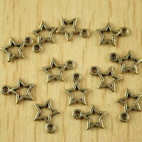 30pcs antiqued copper-tone butterfly charms h2157