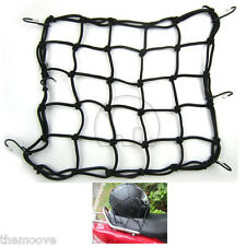 Motorcycle Accessories Bike 6 Hooks Motorcycle Bungee Cargo Net Helmet Net AU