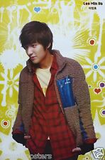 "LEE MIN HO ""FURRY WOOL JACKET"" POSTER FROM ASIA - Korean Actor"