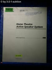 Sony Bedienungsanleitung SA VA55 Home Theater Active Speaker System (#1413)