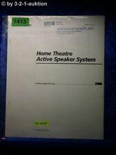 Sony Bedienungsanleitung SA VA55 Home Theater Active Speaker System (#1413)