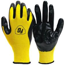 New listing Work Gloves Large General Purpose Nitrile Coated 50 Pair Flexible Safety Gear