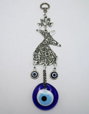 Whirling Dervish Evil Eye – Nazar Alloy Wall Hanging
