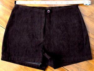 Vintage   CHARLOTTE   RUSSE    soft velvety    Stretch    Shorts     size 1