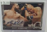 2014 Topps UFC Champions Fighter Autographs #CFA-JH Johny Hendricks auto