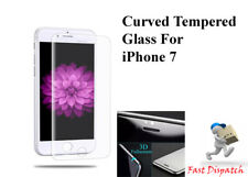 Full Cover Tempered Glass Curved Edge Screen Protector For iPhone 7- Clear