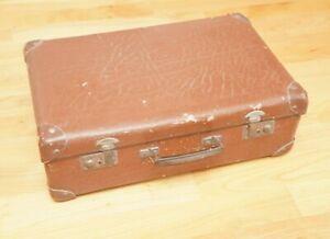 Alter Koffer Reisekoffer Vintage Shabby Chic 40er 50er Jahre Deko braun