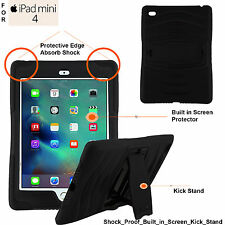 Heavy Duty Tough Shock Drop Proof Case Cover For Apple iPad Mini 4 2015