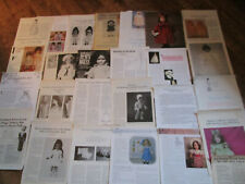 HUGE LOT 26 Vtg Doll Magazine Dress/Outfit/Clothes Pattern