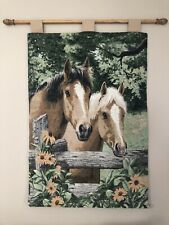 Horse Tapestry Wall Hanging Farmhouse
