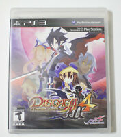 Disgaea 4: A Promise Unforgotten PS3 New Factory SEALED Box