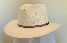 BILTMORE SALE * NEW MENS OUTBACK HAT * L * PANAMA STYLE TOYO STRAW SHADY FEDORA