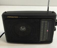 Soundesign AM/FM Portable Radio Model No. 2236BLK