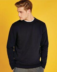 Kustom Kit Sweatshirt Superwash 60 Cotton Jersey Pullover Jumper Sweater (KK302)