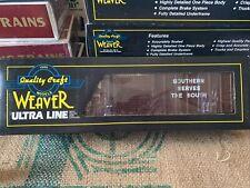 New ListingWeaver O Scale Southern Railroad 50' Ribbed Side Boxcar 3-rail