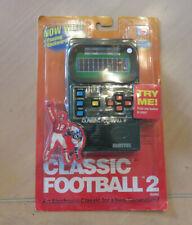 Mattel Classic Football 2 Handheld Electronic Game New Sealed 2002
